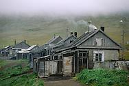 Chukchi village of Inchoun, Chukotka, Siberia, Russia, Arctic