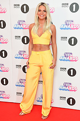 Louisa Johnson attending the BBC Radio 1 Teen Wards, at Wembley Arena, London. Picture date: Sunday October 22nd, 2017. Photo credit should read: Matt Crossick/ EMPICS Entertainment.