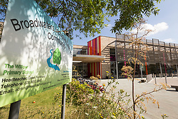 The Broadwaters Inclusive Learning Community, Tottenham, London Borough of Haringey July 2014. This is a collaboration between two local schools, The Willow Primary School & The Brook Primary Special School. UK