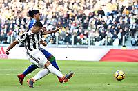 gol Sami Khedira Goal <br /> Torino 04-02-2018 Allianz  Stadium Calcio Serie A Juventus - Sassuolo foto Image Sport/Insidefoto