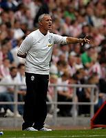 Photo: Jed Wee/Sportsbeat Images.<br /> Sunderland v Juventus. Pre Season Friendly. 04/08/2007.<br /> <br /> Juventus manager Claudio Ranieri.