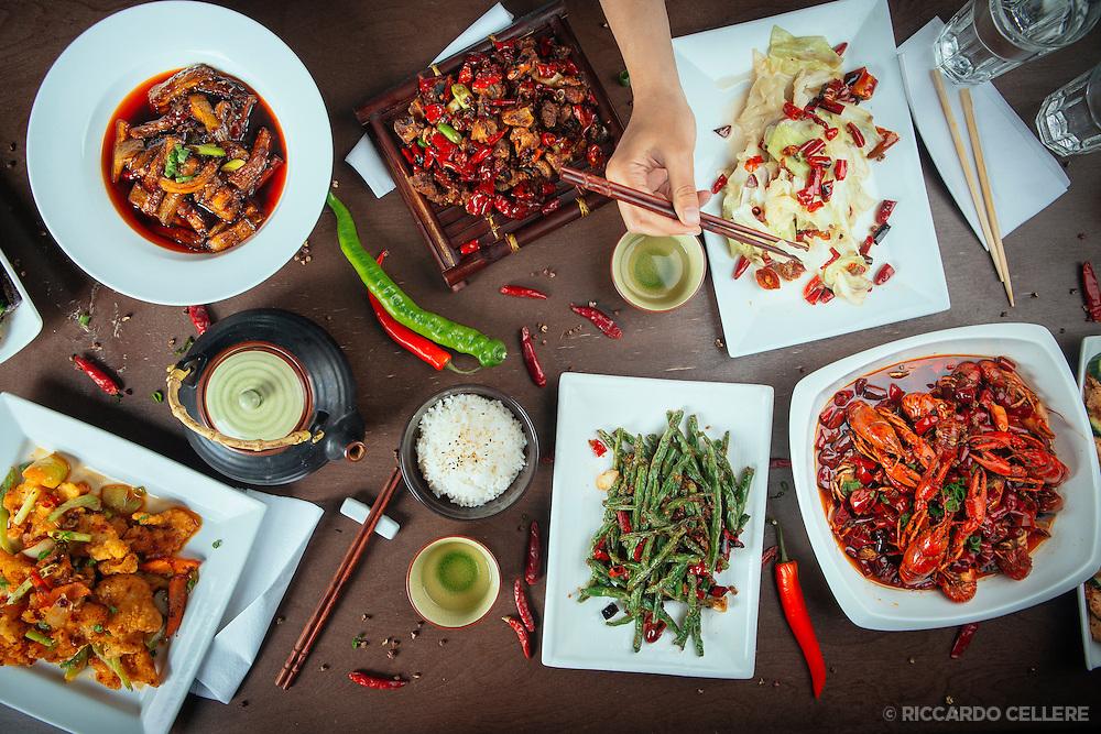 Food photography. Restaurant Gia Ba, Montreal - Chef Andy Su. 2014.