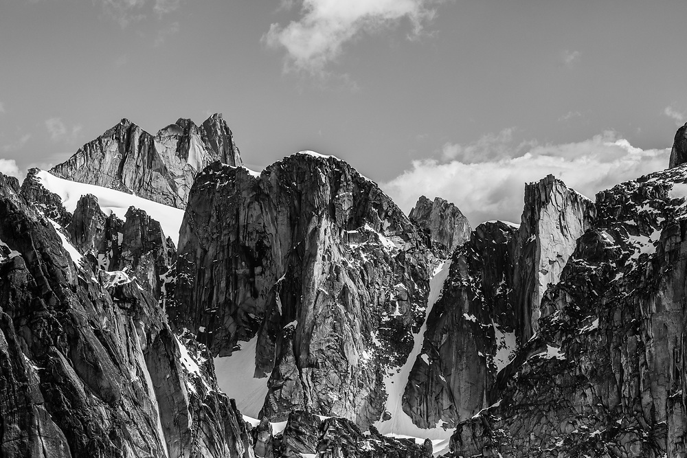 East Peak in the  Pigeon Feathers in the Bugaboos