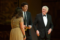 CARDIFF, WALES - Monday, December 5, 2016: Wales manager Chris Coleman is presented with a Special Recognition Award at the Wales Sport Awards 2016 at the Millennium Centre. (Pic by Ian Cook/Propaganda)