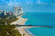 Florida.View from the St Regis Hotel Of Bal Harbour, Miami Beach, Haulover Beach, Sunny Isles