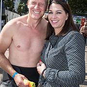 NLD/Amsterdam/20170903 - Amsterdam City Swim 2017, Rintje Ritsma en partner Joandy Mazeland