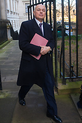 London, February 24th 2015. Ministers arrive at the weekly cabinet meeting at 10 Downing Street. PICTURED: Secretary of State for Work and Pensions Iain Duncan-Smith