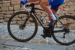 FDJ Nouvelle Aquitaine Futuroscope at the 2020 Clasica Feminas De Navarra, a 122.9 km road race starting and finishing in Pamplona, Spain on July 24, 2020. Photo by Sean Robinson/velofocus.com