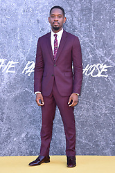 Aml Ameen attending the premiere of Yardie at the BFI Southbank, London. Picture date: Tuesday August 21st, 2018. Photo credit should read: Matt Crossick/ EMPICS Entertainment.