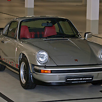 Porsche 911 Turbo #1 (1974), chassis no. 911 560 0042, last owner, late Louise Piëch, now museum car, originally fitted with 2.7-l engine.
