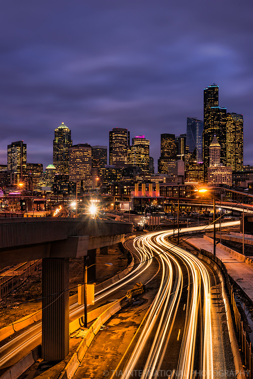 Downtown Seattle & Route 99 Tunnel Construction