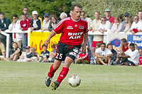 FOTBALL - SEASON 2003/2004 - FRIENDLY GAME - EA GUINGAMP v LOCAL SELECTION - 030704 - STEPHANE CARNOT (GUI) - PHOTO PIERRE MINIER / DIGITALSPORT