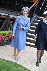 HRH The DUCHESS OF GLOUCESTER at a reception hosted by the Friends of the Castle of Mey held at the Goring Hotel, Beeston Place, London on 22nd May 2012.