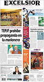 April 01, 2021 (LATIN AMERICA): Front-page: Today's Newspapers In Latin America