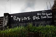 Declarations of love, Monrovia, Liberia 17, July, 2010.
