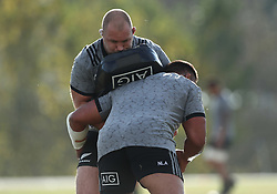 November 20, 2018 - Rome, Italy - Rugby All Blacks training - Vista Norther Tour. and Ngami Laumape at University Sport Center in Rome, Italy on November 20, 2018. (Credit Image: © Matteo Ciambelli/NurPhoto via ZUMA Press)