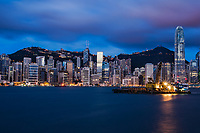 HK Skyline @ Blue Hour
