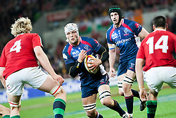 © Licensed to London News Pictures. 25/6/2013. Jarrod Saffy during the British & irish Lions tour match between Melbourne Rebels Vs British & Irish Lions at AAMI Park, Melbourne, Australia. Photo credit : Asanka Brendon Ratnayake/LNP