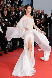 """Cannes. Opening ceremony - Red Carpet of """"The Dead Don't Die"""" Pictures: Laurent Guerin / EliotPress Set ID: 600417. 14 May 2019 Pictured: Alessandra Ambrosio. 72th Film Festival of Cannes. Opening ceremony - Red Carpet of """"The Dead Don't Die"""" Pictures: Laurent Guerin / EliotPress Set ID: 600417. Photo credit: Eliot Press / ELIOTPRESS / MEGA TheMegaAgency.com +1 888 505 6342"""