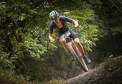Vovk Peter of Calcit Bike Team during the race of XCO National Championship of Slovenia 2021 on 27.06.2021 in Kamnik, Slovenia. Photo by Urban Meglič / Sportida
