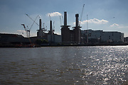 Battersea Power station, River Thames, London. 25 May 2017
