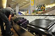 Israel, Ben Gurion International Airport, Arrival hall, baggage claim area