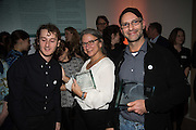WINNERS; Kovi Konowiecki ; JONI STERNBACH; CLAUDIO RASANO, Private view of the Taylor Wessing Portrait prize, National Portrait Gallery, London.  15 November 2016