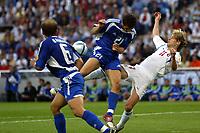Porto 1/7/2004 Euro2004 Semifinal<br />Greece Czech Republic - Grecia Repubblica Ceca 1-0 (1st extra time)<br />Injury of Pavel NEDVED of Czech<br />Photo Andrea Staccioli Graffiti
