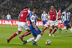February 5, 2018 - Na - Porto, 02/03/2018 - Futebol Clube do Porto received the Sporting Clube de Braga tonight at Estádio do Dragão, in a game to count towards the 21st day of the I Liga 2017/18. Jefferson, Jesús Corona  (Credit Image: © Atlantico Press via ZUMA Wire)