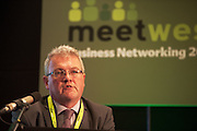 20/11/2014  repro free    <br /> Vincent Campbell Director National Procurement Service,   at the Galway Bay Hotel for the two day conference Meet West attracting over 400 business people from around Ireland for the largest networking event in the Country . Photo:Andrew Downes