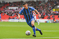 Callum Reilly of Gillingham (13) in action during the EFL Sky Bet League 1 match between Doncaster Rovers and Gillingham at the Keepmoat Stadium, Doncaster, England on 20 October 2018.