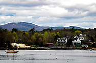 Early Spring on the water in Rockport, Maine
