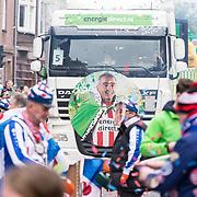 NLD/Eindhoven/20190302  - Romario bij carnavalsoptocht 2019 in Eindhoven, Praalwagen Energie Direct met Romario