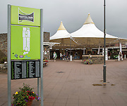 Festival Park shopping centre, Ebbw Vale, Blaenau Gwent, South Wales, UK