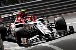 May 23, 2019, Monte Carlo, Monaco: ANTONIO GIOVINAZZI (ITA, Alfa Romeo Racing) during practice for FIA Formula One World Championship 2019, Grand Prix of Monaco (Credit Image: © Hoch Zwei via ZUMA Wire)