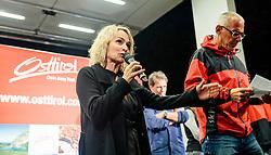 15.08.2016, Hauptplatz, Lienz, AUT, Free Solo Masters, im Bild Bgm. Elisabeth Blanik // during the Free Solo Masters at the Hauptplatz in Lienz, Austria on 2016/08/15. EXPA Pictures © 2016, PhotoCredit: EXPA/ JFK