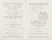 20th September 1959 All Ireland Senior Hurling Championship Semi-Final Programme,
