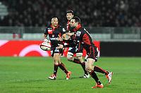 Romain Loursac  - 14.03.2015 - Lyon OU / Toulon -  20eme journee de Top 14<br /> Photo : Jean Paul Thomas  / Icon Sport<br /> <br />   *** Local Caption ***