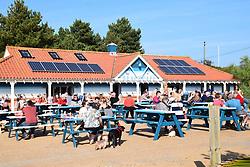 Cafe at Holkham beach, Norfolk