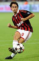 Fotball<br /> Italia<br /> Foto: Inside/Digitalsport<br /> NORWAY ONLY<br /> <br /> Filippo Inzaghi (Milan)<br /> <br /> 17.08.2009<br /> Trofeo Berlusconi - Milan v Juventus