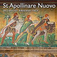 Pictures of The Basilica of Saint Apollinaire Nuovo Byzantine Roman  Mosaics, Ravenna