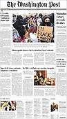 March 08, 2021 (USA): Front-page: Today's Newspapers In United States