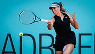 Paula Badosa of Spain in action during her quarter final match at the Mutua Madrid Open 2021, Masters 1000 tennis tournament on May 5, 2021 at La Caja Magica in Madrid, Spain - Photo Rob Prange / Spain ProSportsImages / DPPI / ProSportsImages / DPPI