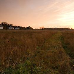 The Surrenden Farm at Sunrise.  Groton, MA.