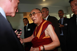 The spiritual leader of the Tibetan people the Dalai Lama in the Council of Europe in Strasbourg, France, on September 17, 2016. Photo by ABACAPRESS.COM