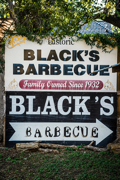 Blacks Barbecue in Lockhart, Texas. One of the Texas Monthly's Top 50 BBQ joints