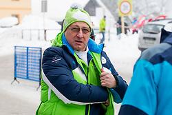 Bogdan Gabrovec during 1st run of Men's Slalom race of FIS Alpine Ski World Cup 57th Vitranc Cup 2018, on March 4, 2018 in Kranjska Gora, Slovenia. Photo by Urban Urbanc / Sportida
