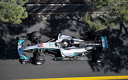MONACO, May 28, 2017  Mercedes driver Lewis Hamilton of Britain is seen during the qualification session of the Formula One Monaco Grand Prix in Monaco, on May 27, 2017. (Credit Image: © Michael Alesi/Xinhua via ZUMA Wire)