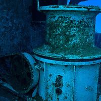 Bow pulley, USS Kittiwake