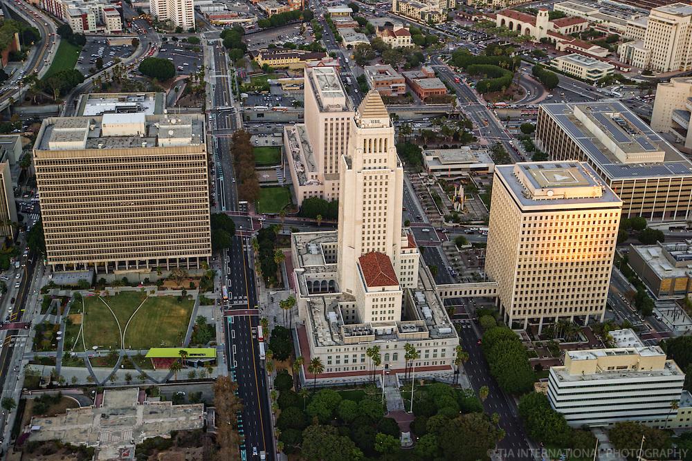 Los Angeles City Hall & Union Station